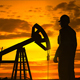 Industrial Oil Field Worker Silhouette - VideoHive Item for Sale