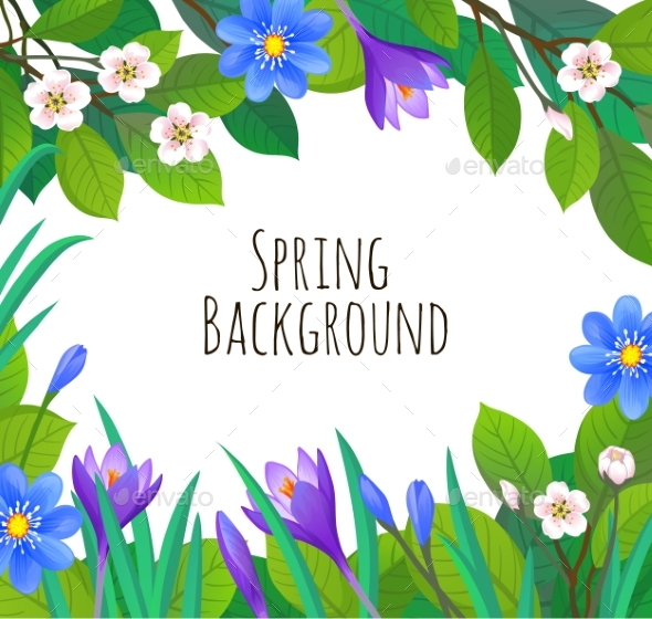 Spring and Summer Banner Template - Backgrounds Decorative