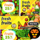 Fruits and Vegetable Banners 05 - GraphicRiver Item for Sale