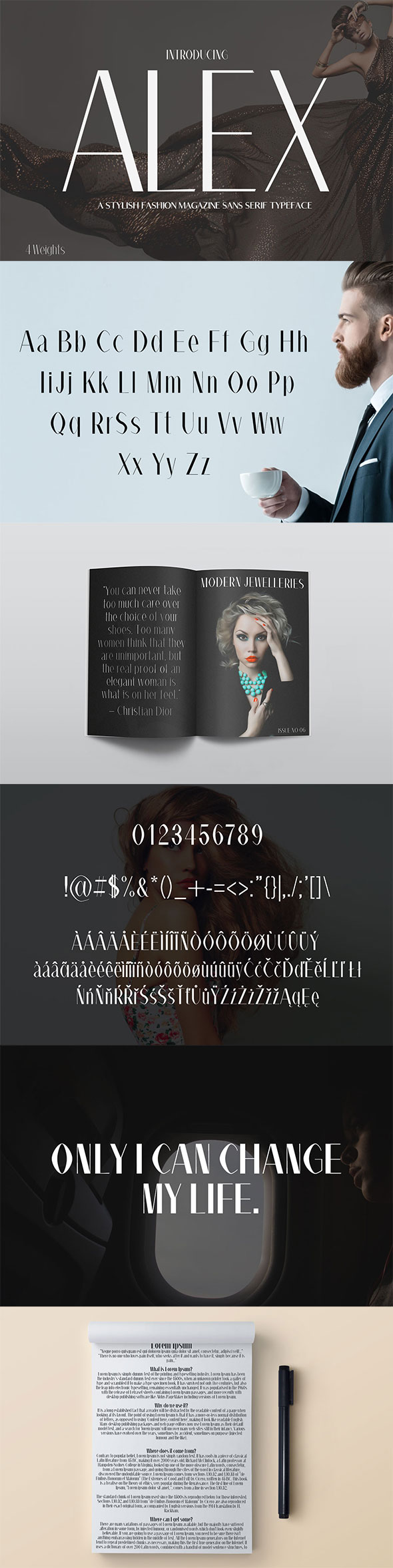 Alex Sans Serif Typeface - Sans-Serif Fonts