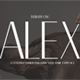 Alex Typeface - GraphicRiver Item for Sale