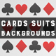 Cards Suits | Backgrounds - GraphicRiver Item for Sale