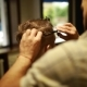 A Stylish Men Cut His Beard and Shave in the Barbershop - VideoHive Item for Sale
