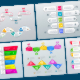 Infographic Templates in Paper Style. v.05 - GraphicRiver Item for Sale