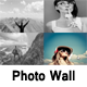 Responsive Swapping Photo Wall