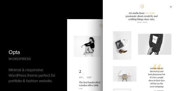 Opta - Minimal Portfolio and Photography WordPress Theme - Photography Creative