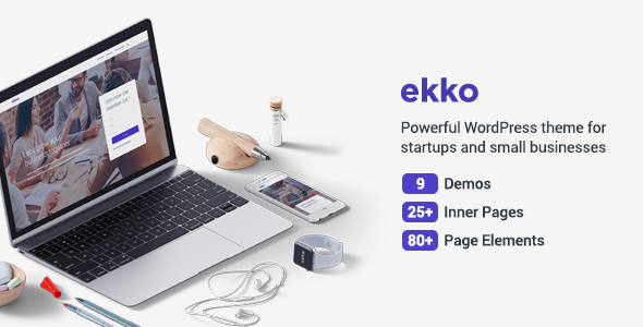 Ekko – Business MultiPurpose WordPress Theme