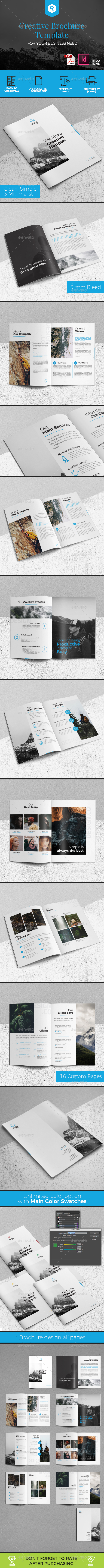 Creative Brochure Template Vol. 02 - Corporate Brochures