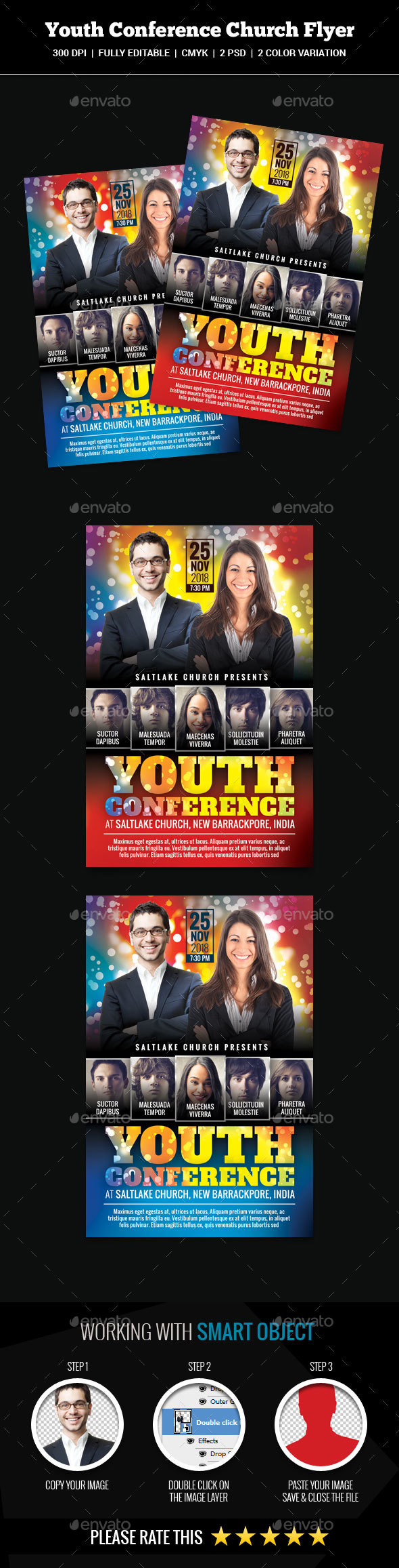 Youth Conference Church Flyer - Church Flyers