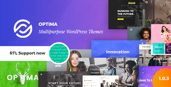 Optima - Multipurpose WordPress Theme