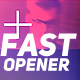 Fast Event Opener - VideoHive Item for Sale