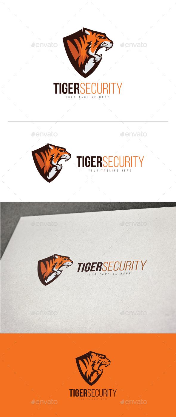 Tiger Security Logo - Animals Logo Templates