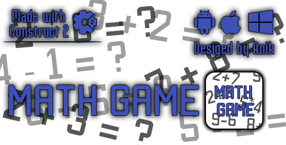 Math Game - HTML5 Game (CAPX) - CodeCanyon Item for Sale