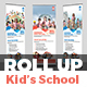 Junior School Promotion Roll-Up Banner