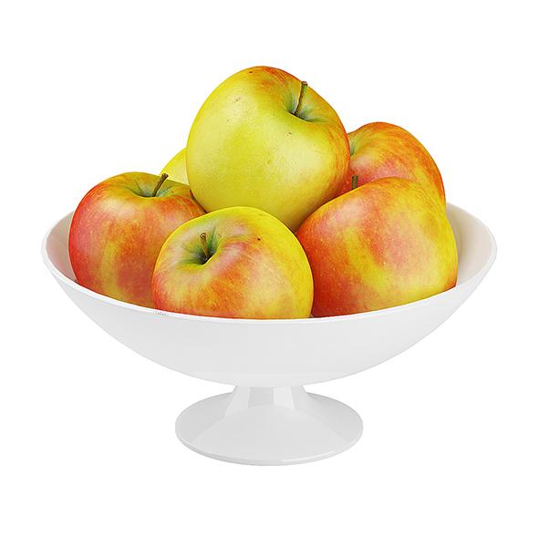 Bowl of Apples - 3DOcean Item for Sale