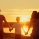 Happy Family at Sunset Silhouette - VideoHive Item for Sale