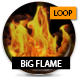 Big Flame Loop With Alpha - VideoHive Item for Sale