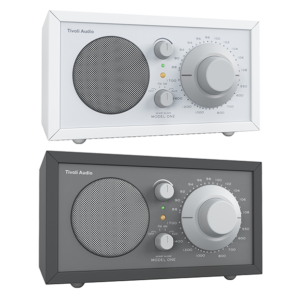 Tivoli Audio Model ONE radio - 3DOcean Item for Sale