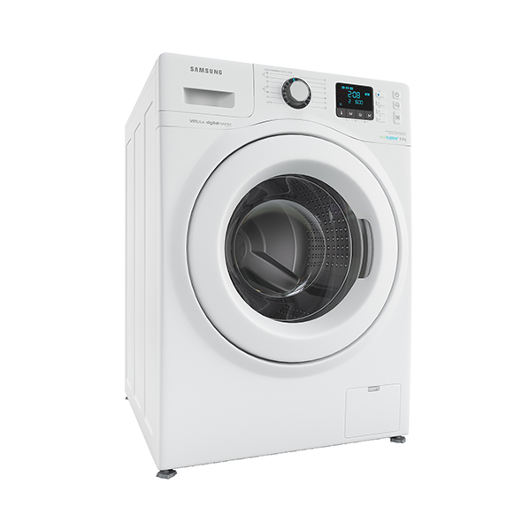 Samsung_WF80F7E3P6W washing machine - 3DOcean Item for Sale