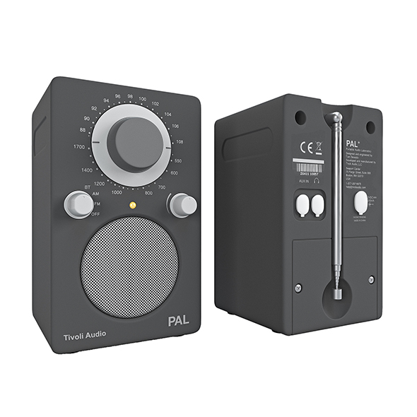 Tivoli Audio model PAL grey - 3DOcean Item for Sale
