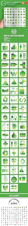 50 Green Infographics Design - Infographics