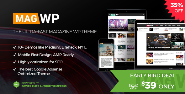 Mag WP | Magazine WordPress Theme