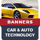 Car Technology Banner Ads - GraphicRiver Item for Sale