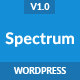 Spectrum - Marketing Landing Page WordPress Theme