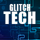 Hi-Tech Electronic Glitch Logo