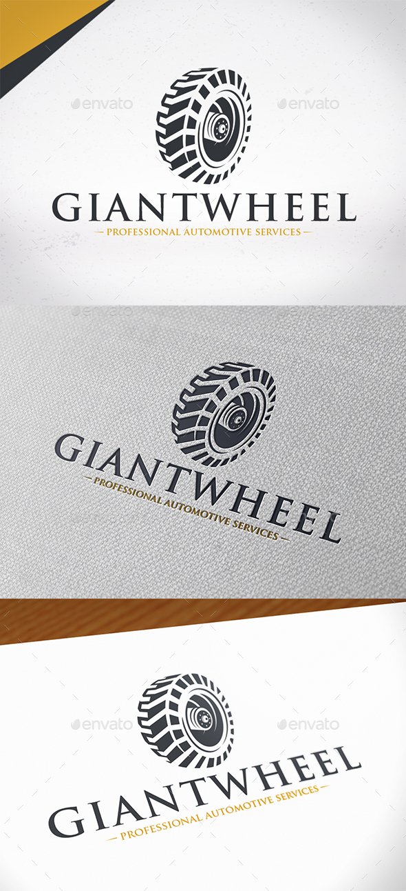 Giant Wheel Logo Template - Objects Logo Templates
