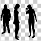 Creative People Silhouettes - VideoHive Item for Sale