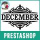 December - Shopping Responsive Prestashop Theme Nulled