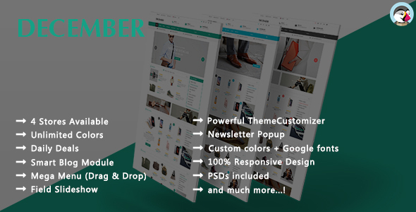December – Shopping Responsive Prestashop Theme