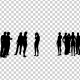 Group of People Silhouettes - VideoHive Item for Sale