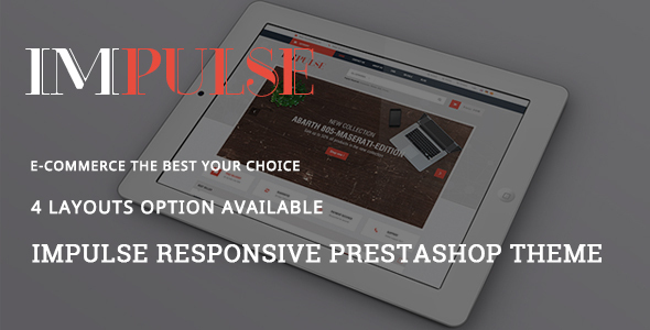 Impulse – Digital Responsive Prestashop Theme