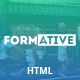 Formative - Creative One Page Parallax Template Nulled