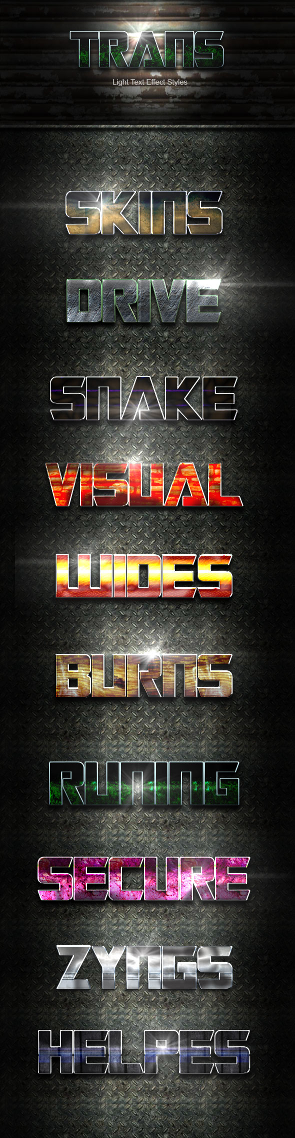 Trans Text Effect V21 - Text Effects Actions