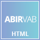 ABIRVAB - One Page Multipurpose HTML5 Template - ThemeForest Item for Sale