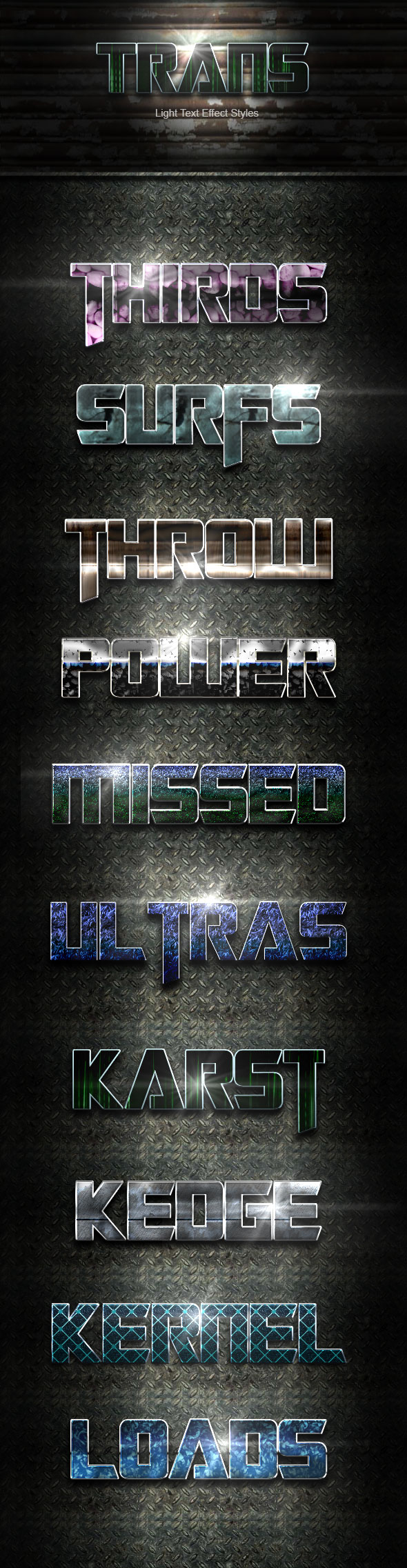 Trans Text Effect V23 - Text Effects Actions