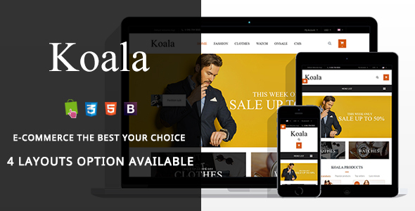 Koala – Fashion Responsive Prestashop Theme