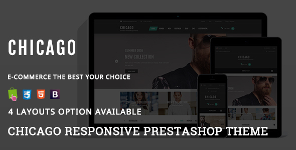 Chicago – Fashion Responsive Prestashop Theme