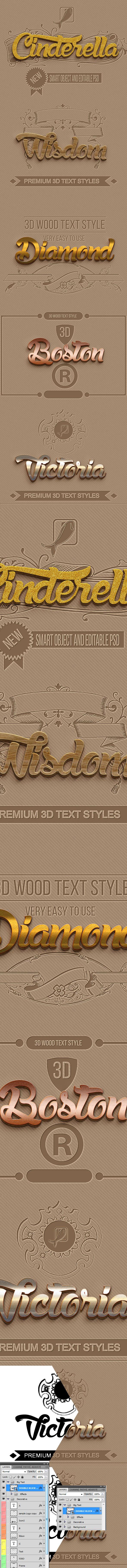 Elegant Styles Vol A017 - Styles Photoshop