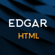 Edgar - Multipurpose HTML Template - ThemeForest Item for Sale