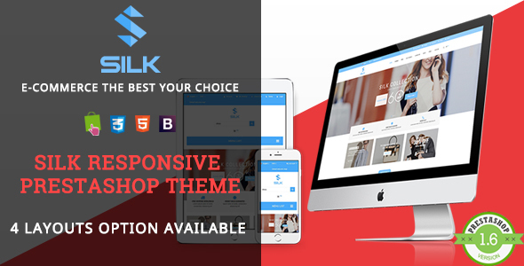 Silk – Fashion Responsive Prestashop Theme