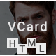 Pcard - Personal  Minimal V card Template Nulled