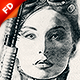 Charcoal Sketch CS3+ Photoshop Action - GraphicRiver Item for Sale