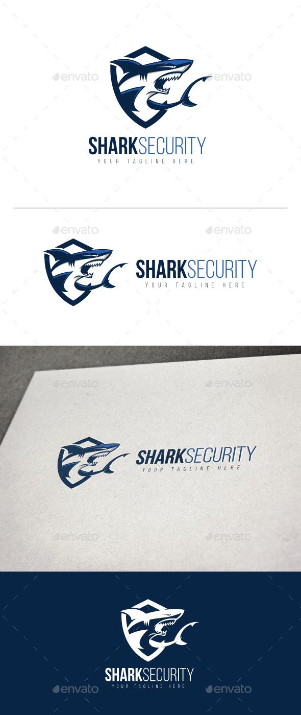 Shark Security Logo - Animals Logo Templates