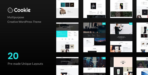 Cookie | Multipurpose Creative WordPress Theme