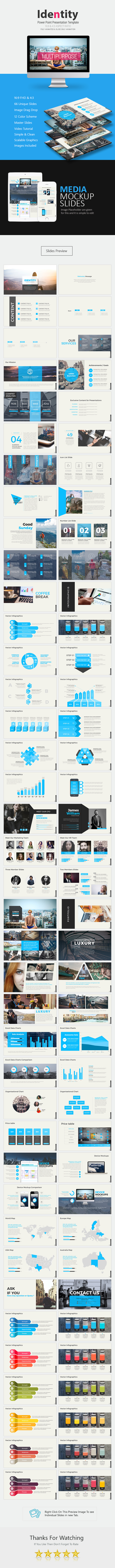 Identity Power Point Presentation - Business PowerPoint Templates
