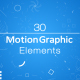 30 Motion Graphic Elements - VideoHive Item for Sale